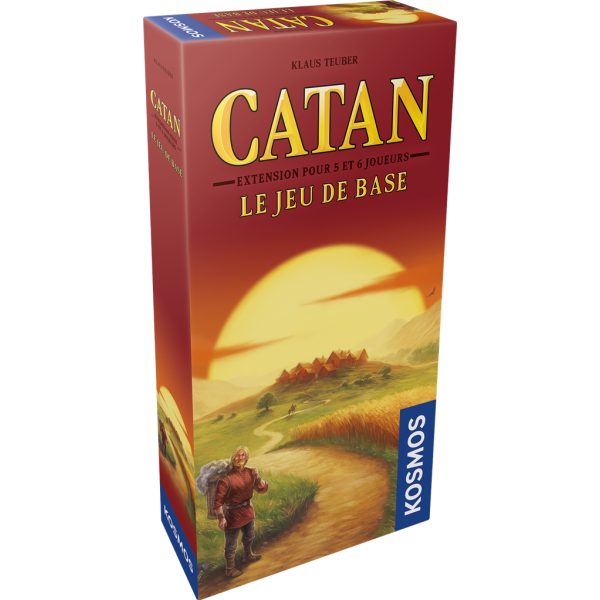 Catan Extension 5-6 Joueurs (Fr) - Jouets LOL Toys