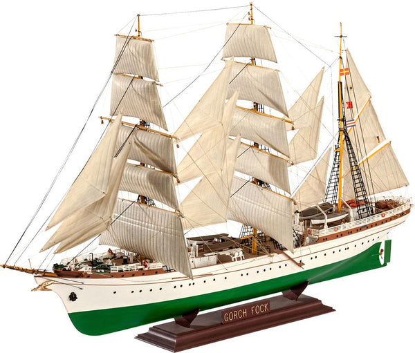 Revell Model Boat Gorch Fock Ship - Jouets LOL Toys