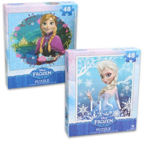 Disney Frozen Puzzles Assorted - Jouets LOL Toys