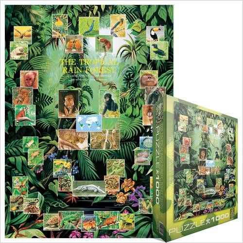 Puzzle The Tropical Rain Forest - Jouets LOL Toys