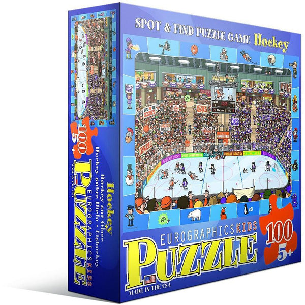 Spot & Find Puzzle Hockey - Jouets LOL Toys