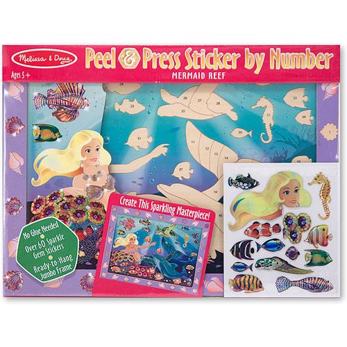 Melissa & Doug Peel Press Mermaid - Jouets LOL Toys