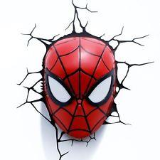 Spider-Man Head Night Light - Jouets LOL Toys