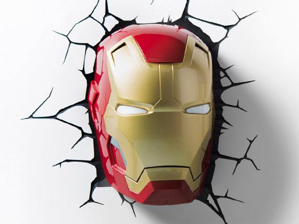 Mavel Night Light Iron Man Head - Jouets LOL Toys