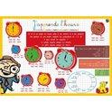 Placemat J'Apprends L'Heure (French) - Jouets LOL Toys