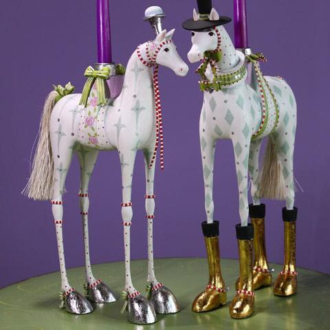 Annabelle and Arthur Horse Candelabra Set - Jouets LOL Toys