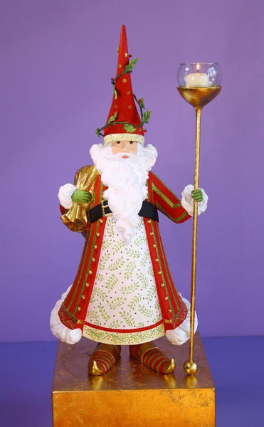Dash Away Nicholas Santa Candle Holder - Jouets LOL Toys