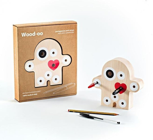 Milanwood Wood-oo Pen Holder - Jouets LOL Toys