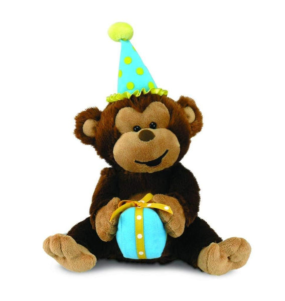 Cuddle Barn Birthday Monkey Max - Jouets LOL Toys