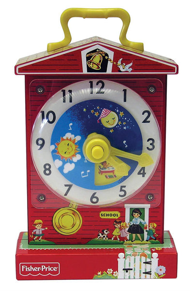 Fisher Price Music Box Teaching Clock - Jouets LOL Toys