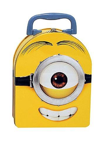 Minions Tin Lunch Box Round - Jouets LOL Toys