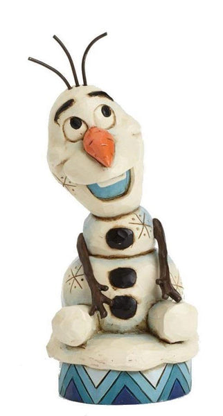 Enesco Disney Frozen Olaf Figurine by Jim Shore - Jouets LOL Toys