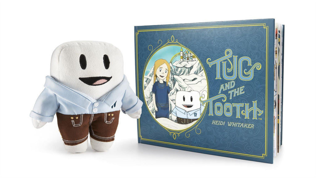 Tug And The Tooth Book and Plush (eng)