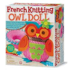 4M French Knitting Owl Doll - Jouets LOL Toys