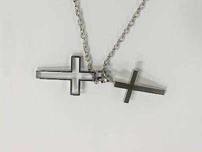 2 Crosses Necklace - Jouets LOL Toys