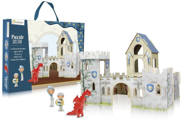 Avenue Mandarine Puzzle Decor Knight Castle