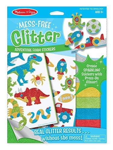 Melissa & Doug Glitter Adventure Foam Sticker - Jouets LOL Toys