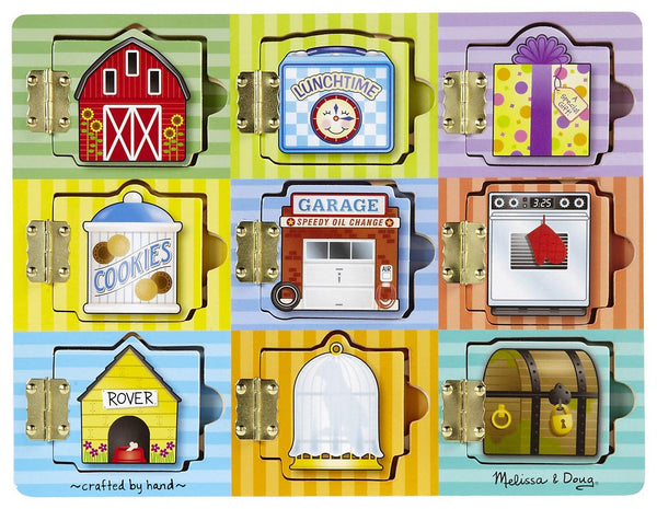 Melissa & Doug Hide & Seek Magnetic Board - Jouets LOL Toys