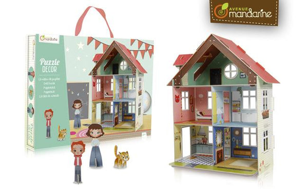 Avenue Mandarine Puzzle Decor Dollhouse - Jouets LOL Toys