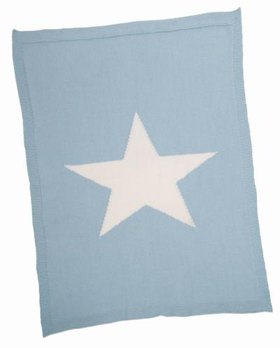 Merben Baby Blanket Blue With Star - Jouets LOL Toys