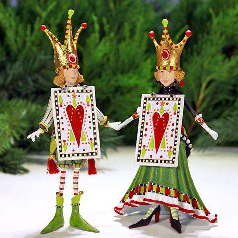 Jack and Jacqueline of Hearts Ornaments (Set of 2) - Jouets LOL Toys