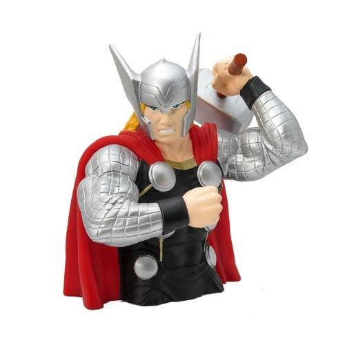 Marvel Thor Bust Bank - Jouets LOL Toys