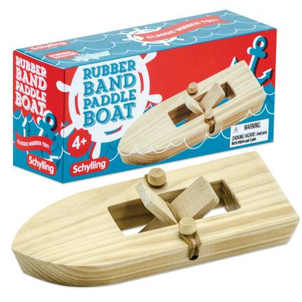 Schylling Rubber Band Paddle Boat - Jouets LOL Toys