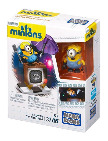 Mega Construx Minions Silly TV - Jouets LOL Toys