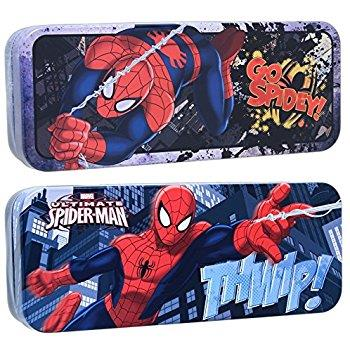 Spider-Man Tin Pencil Case (Assorted) - Jouets LOL Toys