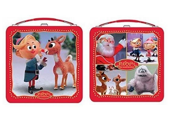 Rudolph Square Lunch Box (Assorted) - Jouets LOL Toys