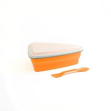 Paderno Pizza Slice Container Orange - Jouets LOL Toys