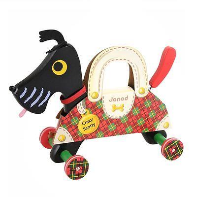 Janod Pull Along Scotty Dog - Jouets LOL Toys