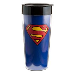 DC Superman 16oz Travel Mug - Jouets LOL Toys