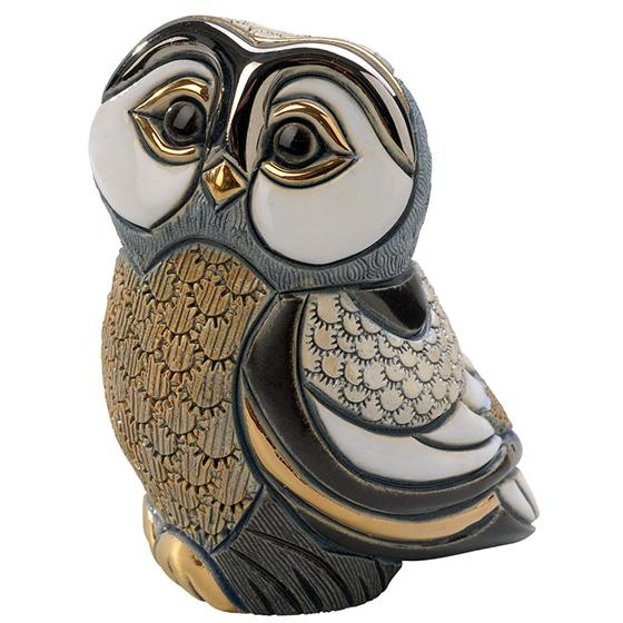 De Rosa Collections Blue Tawny Owl Figurine - Jouets LOL Toys
