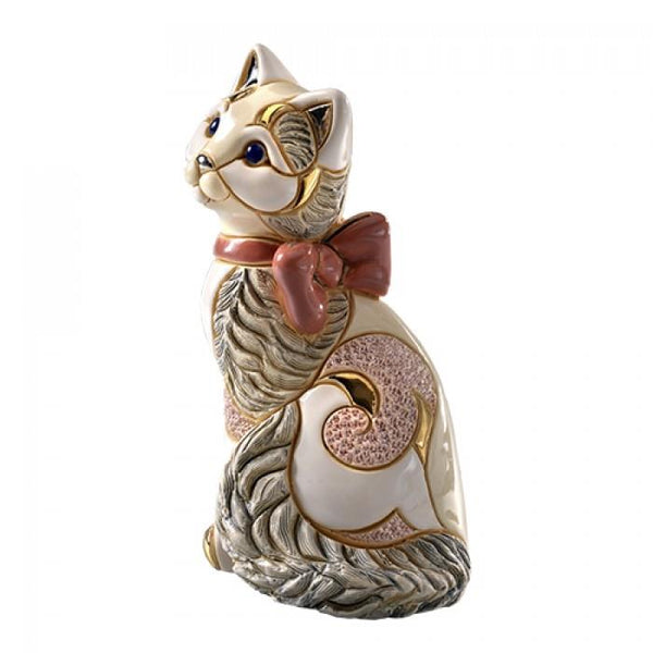 De Rosa Collections Cat with Ribbon Figurine - Jouets LOL Toys