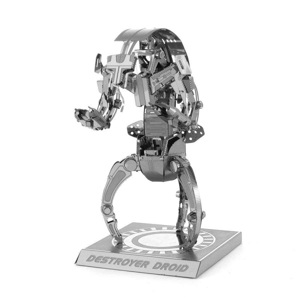 Metal Earth Destroyer Droid 3D Model - Jouets LOL Toys