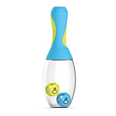 Samba Shaker Bottle Blue/Yellow - Jouets LOL Toys