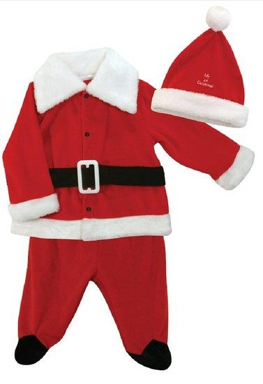 Stephan Baby Baby's First Christmas Boy Santa Outfit - Jouets LOL Toys