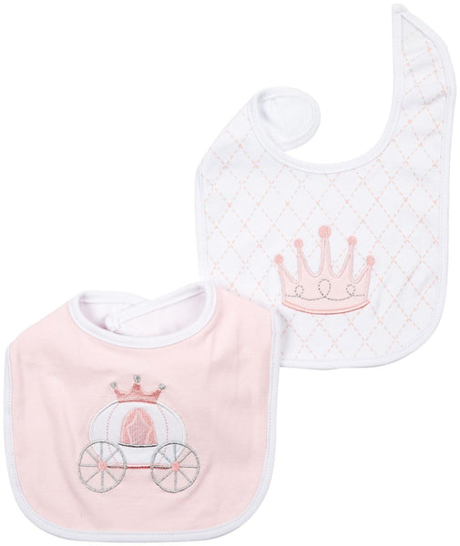 Baby Aspen Princess 2 Pieces Bibs - Jouets LOL Toys