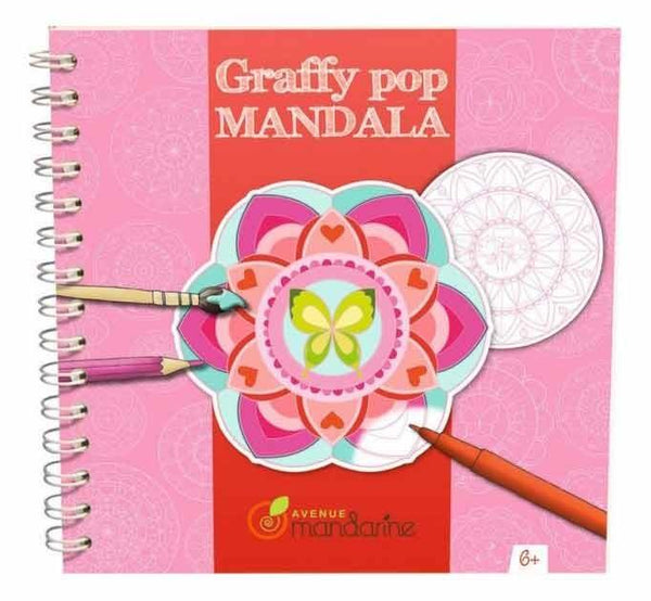 Avenue Mandarine Graffy Pop Mandala Girl - Jouets LOL Toys