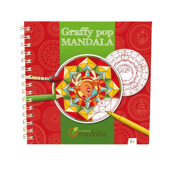 Avenue Mandarine Graffy Pop Mandala XMas - Jouets LOL Toys