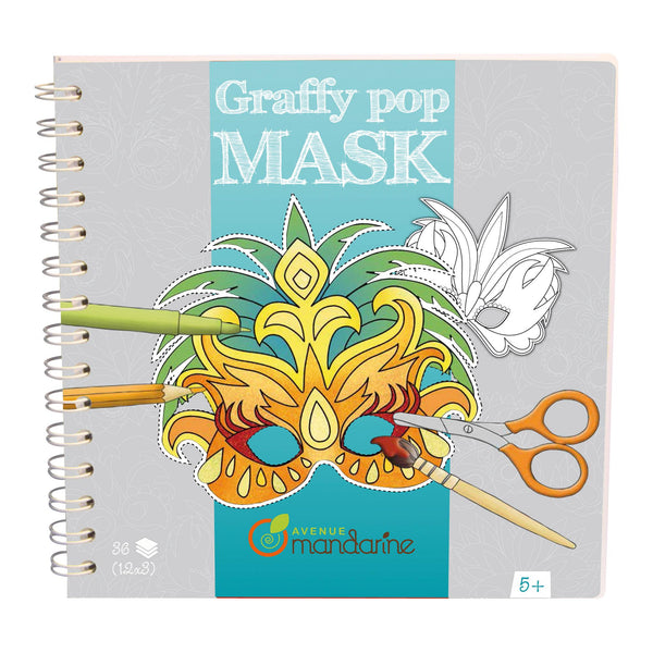Avenue Mandarine Graffy Pop Rio Masks - Jouets LOL Toys