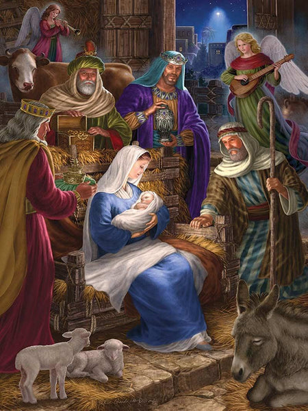 Cobble Hill Family Puzzle Holy Night