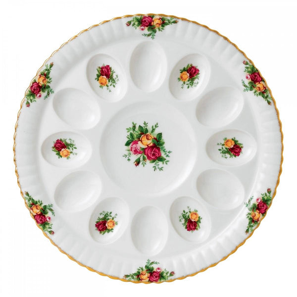 Royal Albert Deviled Egg Dish