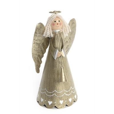 Angel Metal Gold Figurine - Jouets LOL Toys