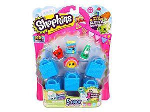 Shopkins 5 pack Season 1 - Jouets LOL Toys