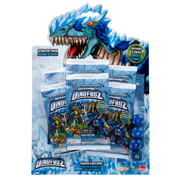 Dinofroz Starter Pack Boosters - Jouets LOL Toys