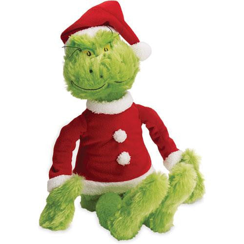 Dr. Seus The Grinch in Santa Suit - Jouets LOL Toys