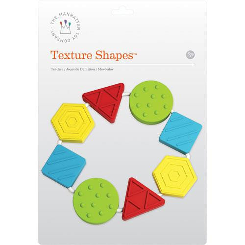 Manhattan Toys Texture Shapes - Jouets LOL Toys