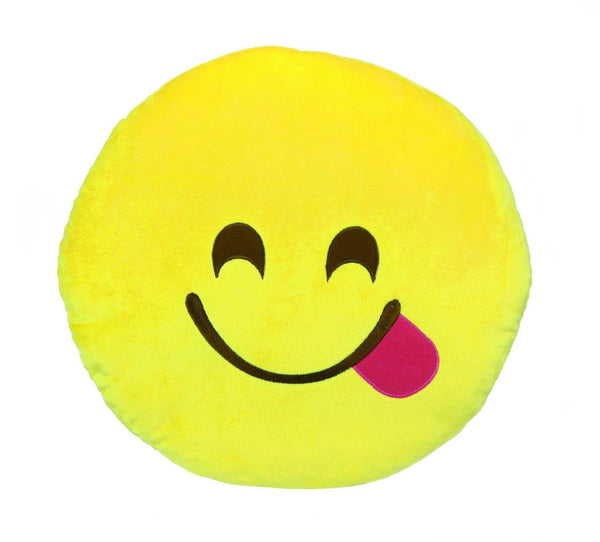 Emoji Large Pillow Savouring Food - Jouets LOL Toys